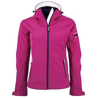 Tee Jays Womens/Ladies Hooded Fashion Softshell Jacket