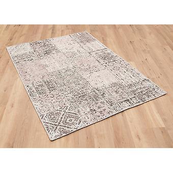 Amalfi 0010 8002 Lachs Rosa Rechteck Teppiche moderne Teppiche