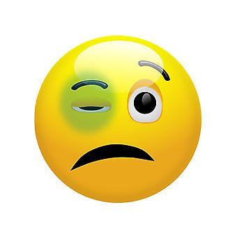 Musta silmä Emoji naamio