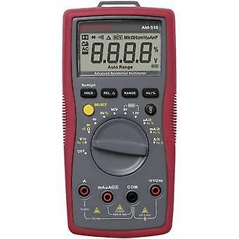 BEHA Amprobe AM-510-EUR kannettava yleismittari digitaalinen CAT III 600 V näyttö (laskee): 4000