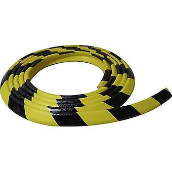 VISO PUS300NJ Protective foam black, yellow (L x W) 4.5 m x 30 mm