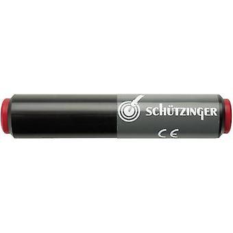 Schützinger SKU 7035/NI/RT Connector 4 mm socket - 4 mm socket Red 1 pc(s)