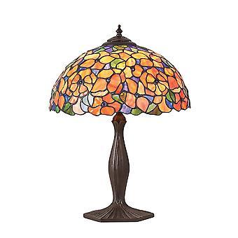 Interiores 1900 Josette Tiffany grande única mesa de luz
