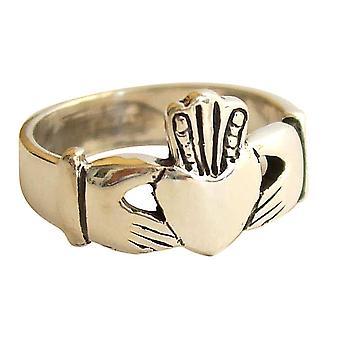 Gemshine-kvinder-ring-925 sølv-Claddagh