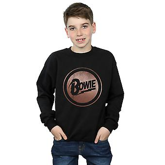 David Bowie Boys Rose Gold Circle Sweatshirt