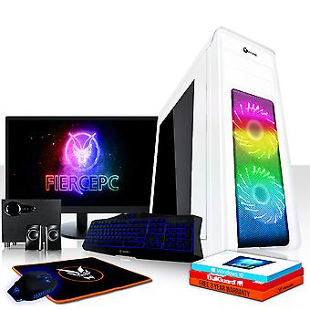 Feroz APACHE Gaming PC, Fast Intel Core i5 7500 3.8 GHz, 1TB SSHD, 16GB de RAM, GTX 1660 6GB