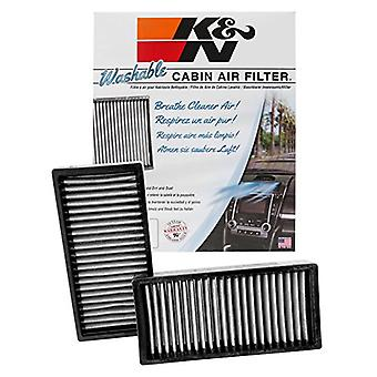 K&N VF2046 Washable & Reusable Cabin Air Filter Cleans and Freshens Incoming Air for your Chevy, Pontiac, Buick