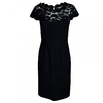 Veromia Occasions Women's Short Sleeve Lace Dress