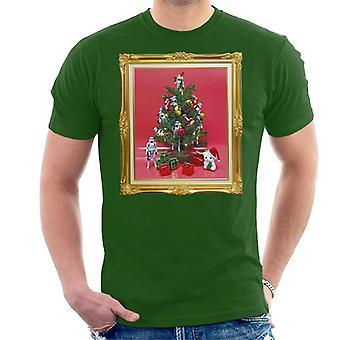 T-shirt original Stormtrooper árvore de Natal masculino