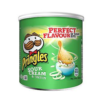 Pringles panna acida e cipolla patatine