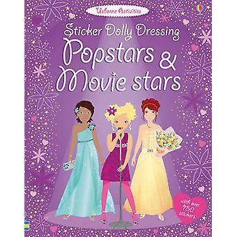 Sticker Dolly Dressing Popstars and Movie Stars by Fiona Watt - Lucy