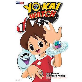 Yo-Kai Watch - Vol. 1 - Volume 1 by Noriyuki Konishi - 9781421582511 B