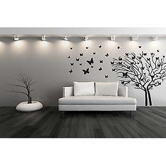 Butterfly Tree Wall Sticker