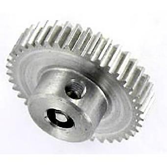 Stål kuggväxel Reely modultyp: 0,5 Bore diameter: 4 mm nr. tänder: 40