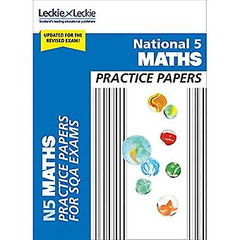 National 5 Mathematics Practice Exam Papers - Practice Papers for SQA Exams (Paperback)