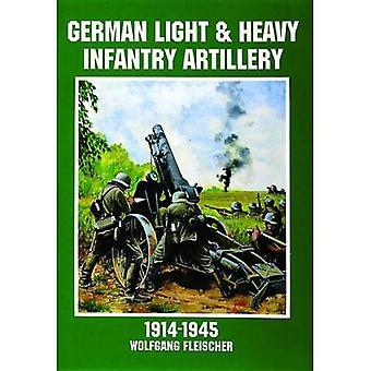 Deutsche Infanterie für leichte und schwere Artillerie 1914-1945 (Schiffer Military History)