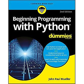 Beginning Programming with�Python for Dummies