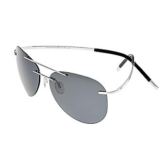 Simplify Sullivan Polarized Sunglasses - Silver/Black