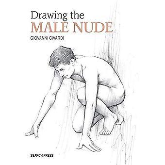 Tegning af mandlige nøgen