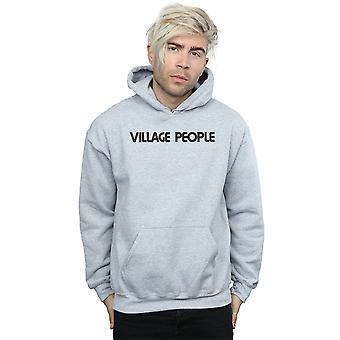Texte Logo Hoodie Village People masculine