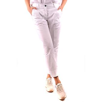 Fay Ezbc035050 Women's White Cotton Pants