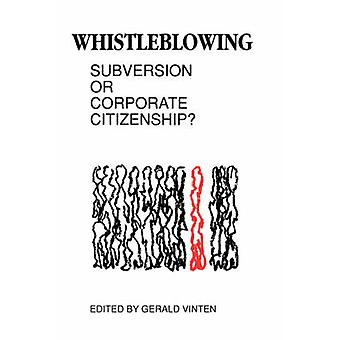 Whistleblowing by Vinten & Gerald