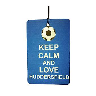 Keep Calm And Love Huddersfield Car Air Freshener
