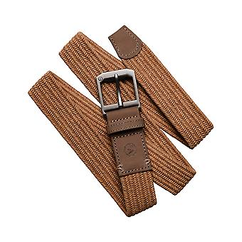 Arcade Norrland Webbing Belt in Metal Brown/Caramel