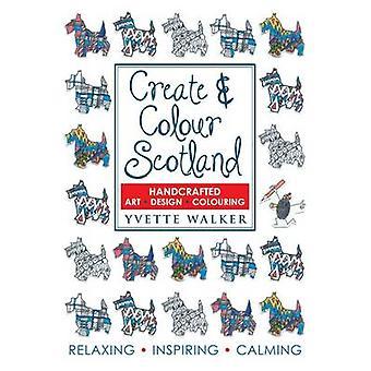 إنشاء ولون اسكتلندا - تلوين - رسم - فن - تصميم Yvett