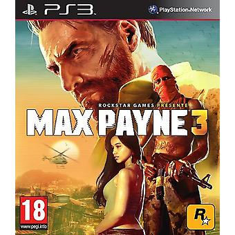 Max Payne 3 PS3 Game