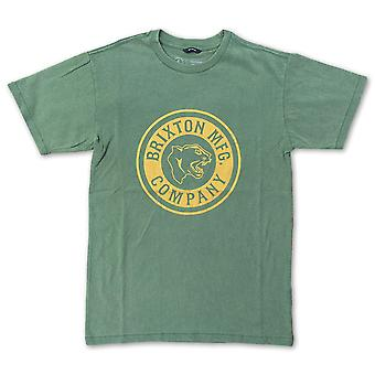 Folha do T-shirt de Brixton forte