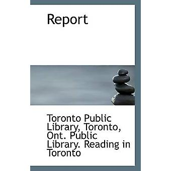 Report by Toronto Public Library - 9781113320445 Book