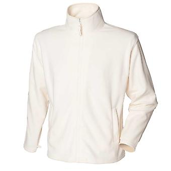 Henbury Mens Polyester MicroFleece Jackets