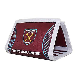 Вест Хэм ФК официальный поворот футбол гребень бумажник