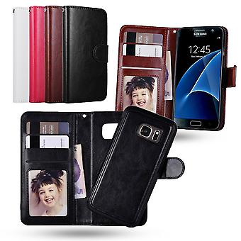 Samsung Galaxy S7 Edge-Wallet Pouch/Magnetic Scale