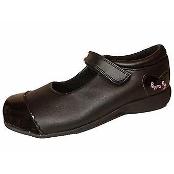 Girls Kids Peppa Pig Blackboard School Shoe