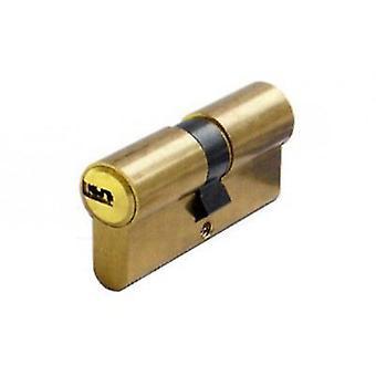 ABUS European cylinder dots key d6 30 + 40 5k + t. brass. (DIY , Hardware)