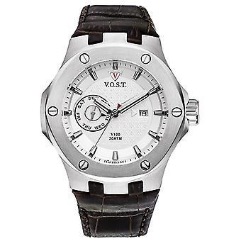 V.O.S.T. Germany V 100.006 Steel Multifunction men's Watch 44mm