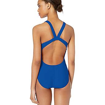 Nike Swim Women's Fast Back One Piece Swimsuit, Game Royal,, Game Royal, Size 32