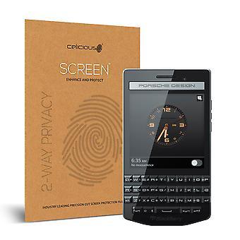 Celicious Privacy 2-weg Antispion filteren Screen Protector Film compatibel met Blackberry Porsche Design P'9983