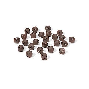 25 Rusty 9mm Jingle Bells for Crafts | Craft Bells | Arts & Crafts