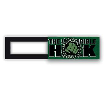 Couverture webcam/slider-License™-Hulk 01-Green