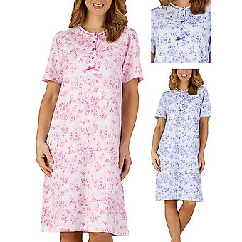 Floral Jersey Nightdress