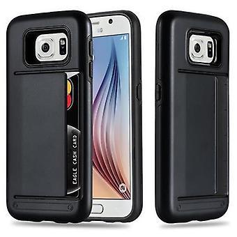Hülle für Samsung Galaxy S6 Hard Cover - Hybrid TPU Silikon Handyhülle Back Cover Bumper