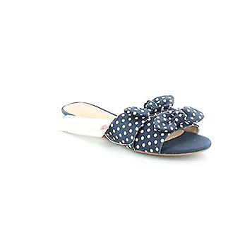 Esprit Kenia Frauen's Sandalen & Flip Flops Marine/weiß Größe 8 M