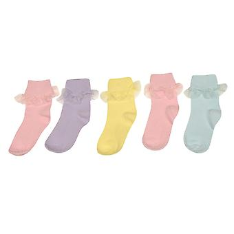 Crafted Girls 5 Pack Calzini Frilly