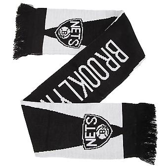 Brooklyn Nets Official NBA Basketball Crest Optics Scarf