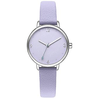 Mr wonderful dream forever Quartz Analog Woman Watch with Synthetic Leather Bracelet WR55301