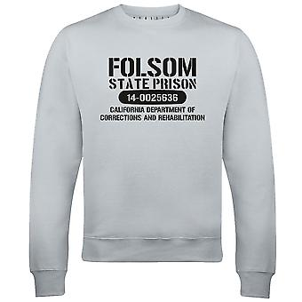 Mannen ' s Folsom gevangenis trui