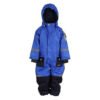 SNOWTEX Winter jumpsuit with Reflexes - Blue